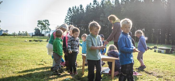 Jak vypadá náš den v lesní školce?
