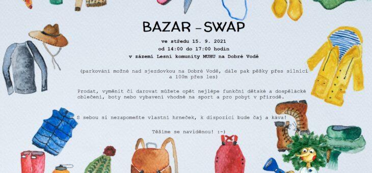 BAZAR- SWAP    15.9. 2021